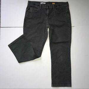 Anthro Pilcro And The Letterpress Gray Jeans Sz 31